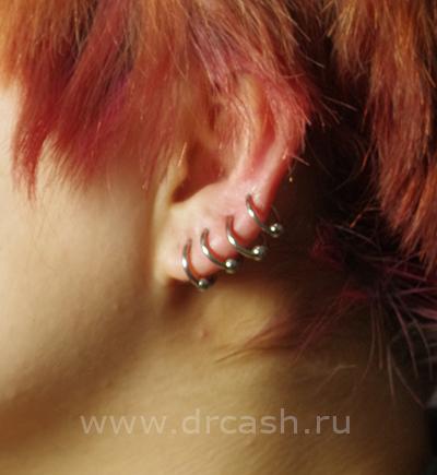 Пирсинг ушей – один из самых